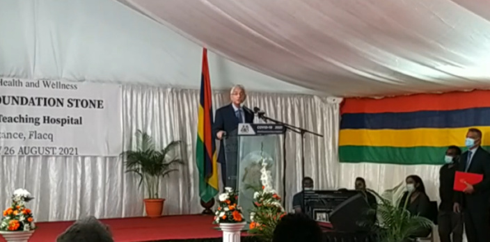 « Il nous faut apprendre à vivre avec le Covid », affirme Pravind Jugnauth