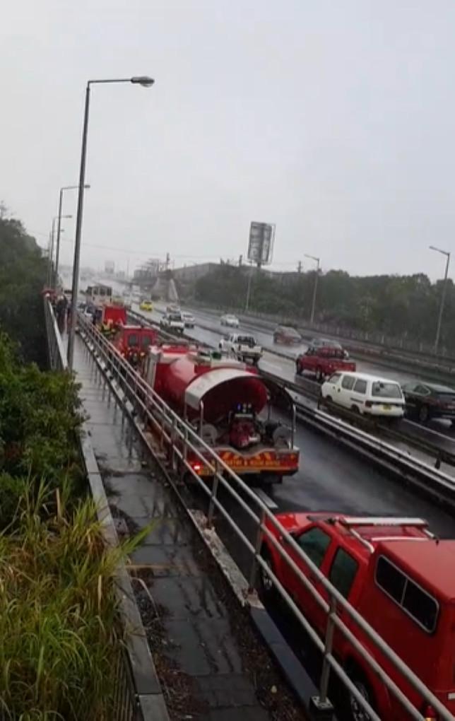[Vidéo] Un homme se donne la mort en se jetant du Pont Collville Deverell, à Montage Ory