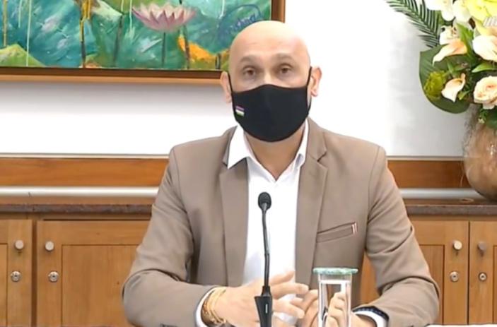 Le ministre Jagutpal avoue le décès d'une quarantaine de personnes positives au Covid-19