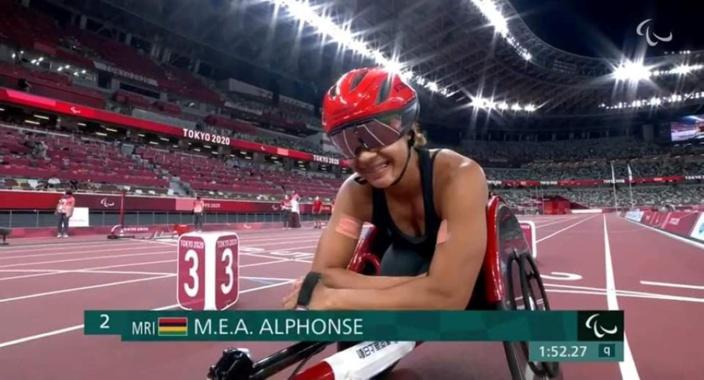 Jeux Paralympiques de Tokyo 2020 : Noemi Alphonse termine à la 5ème de la finale du 100 m