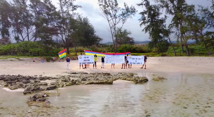 [Vidéo] Aret Kokin Nu Laplaz alerte sur l'écosystème de la plage de Beau Champ à Bel Ombre