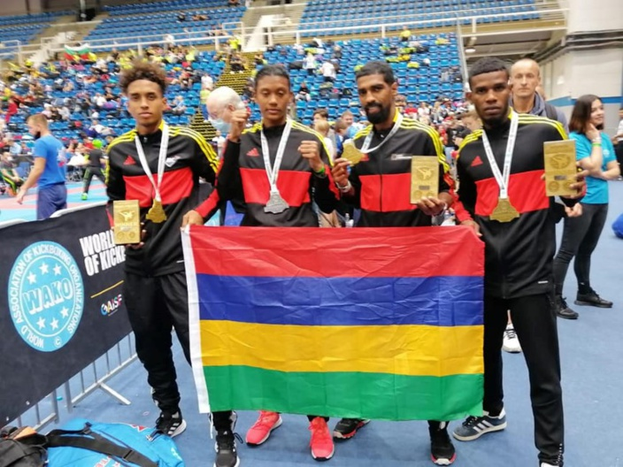 Coupe du monde de Hongrie de Kick-boxing : Les Mauriciens raflent trois médailles d'or et une d'argent