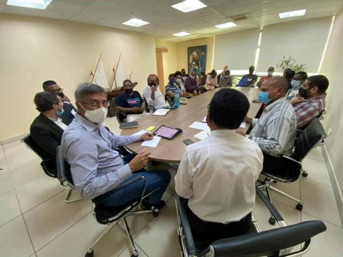 Rodriguais bloqués à Maurice : Le PMSD s'en remet à la justice