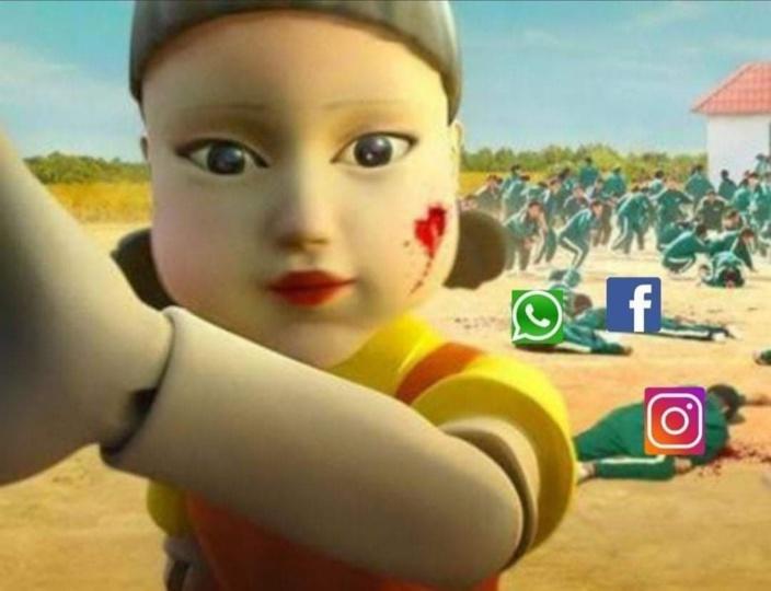 Facebook, Instagram et WhatsApp en panne, les internautes font preuve d'humour