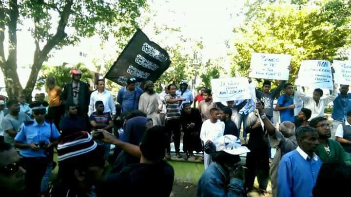 Manifestation organisée par Zam Zam Islamic