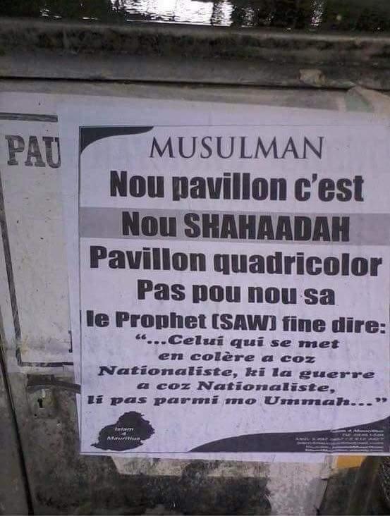 Les radicaux islamiques à Maurice