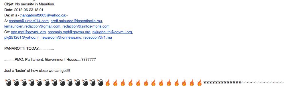 Le mail de revendication