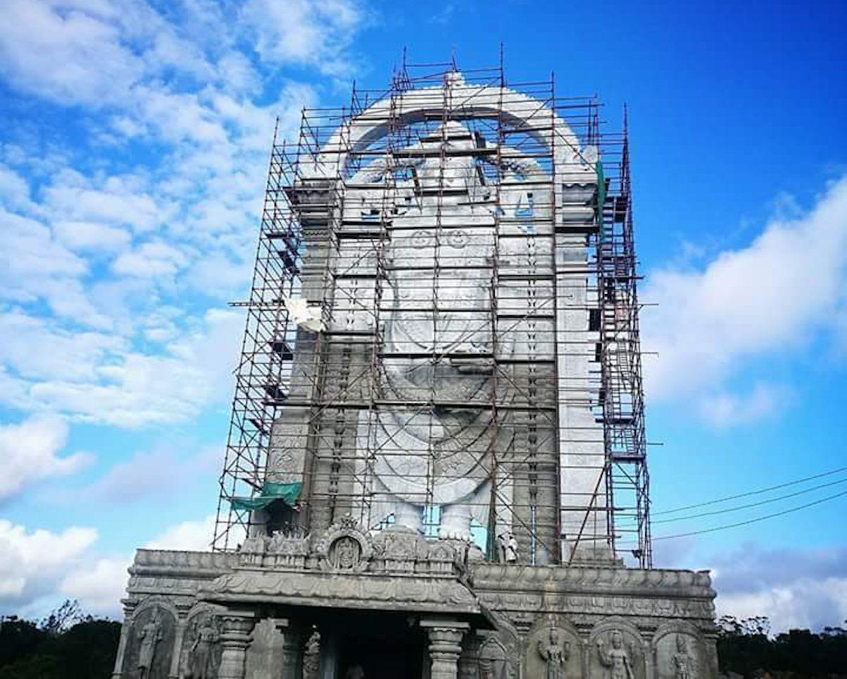 Encore un record ! La plus haute statue du Dieu Venkateswara au monde trône à Maurice