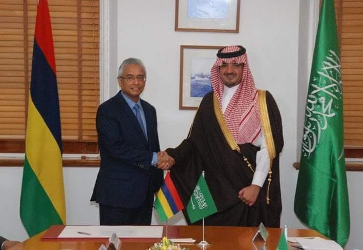 Le Prince saoudien n'est pas venu les mains vides :Rs 1,7 milliard pour la construction d'un hôpital à Flacq