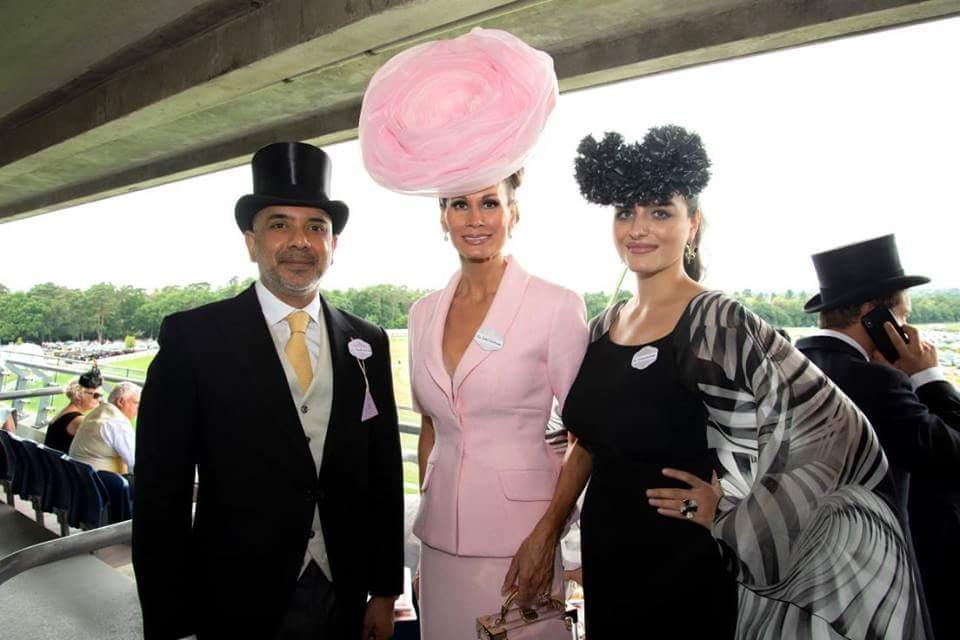 la Princess Olga Romanoff, Lady Colin Campbell et Sanjiv Ramdanee