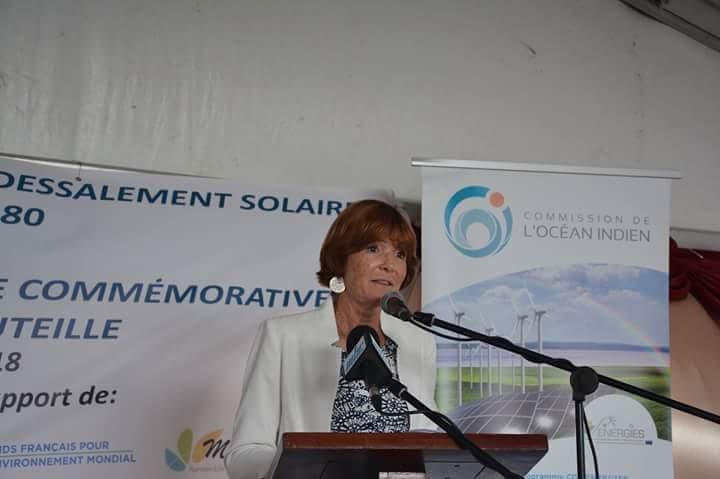 La première unité de dessalement solaire de l'océan Indien lancée à Rodrigues