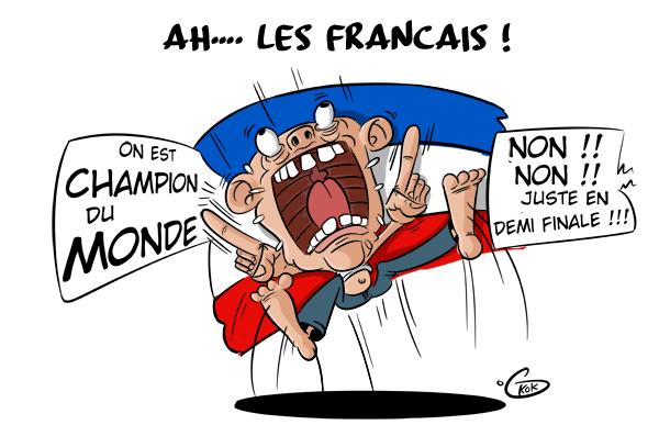 [KOK] Le dessin du jour : La France championne du Monde !