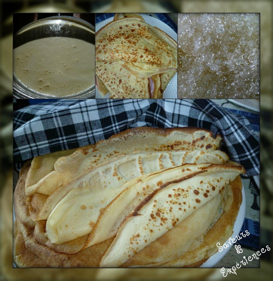 La recette d'Emmanuelle : Crêpes, recette maison !