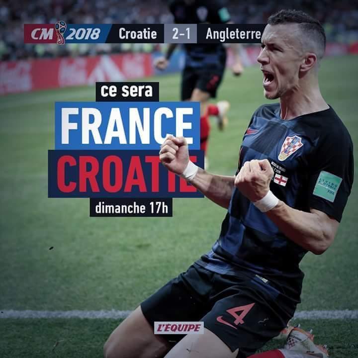 Mondial 2018 : France - Croatie