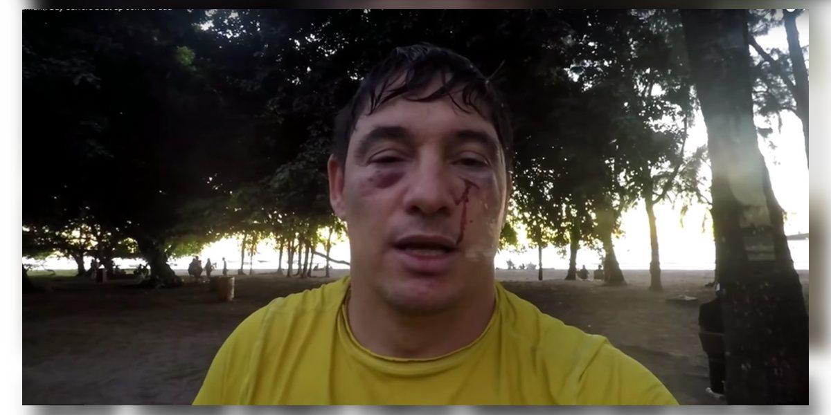 Kyle Kahn et son fils se font agresser à Tamarin par des surfeurs locaux