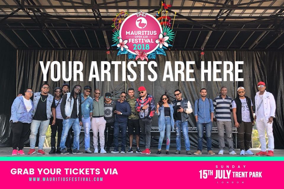 Le Mauritian Open Air Festival (MOAF) ce dimanche à Londres