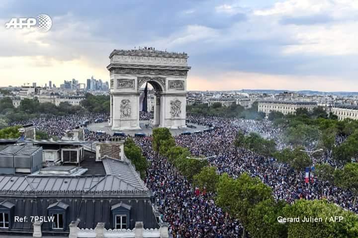 Mondial 2018- Les images qui entrent dans l'Histoire !