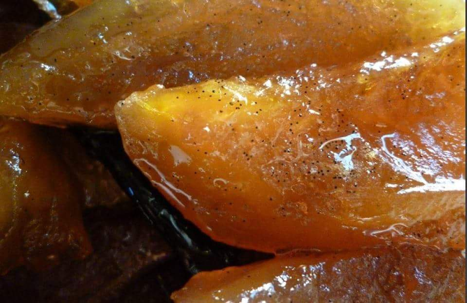 La recette d'Emmanuelle : La Papaye confite à la Vanille de Maurice