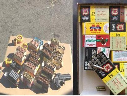 Saisie d'un pistolet et plus d'un millier de munitions par la douane