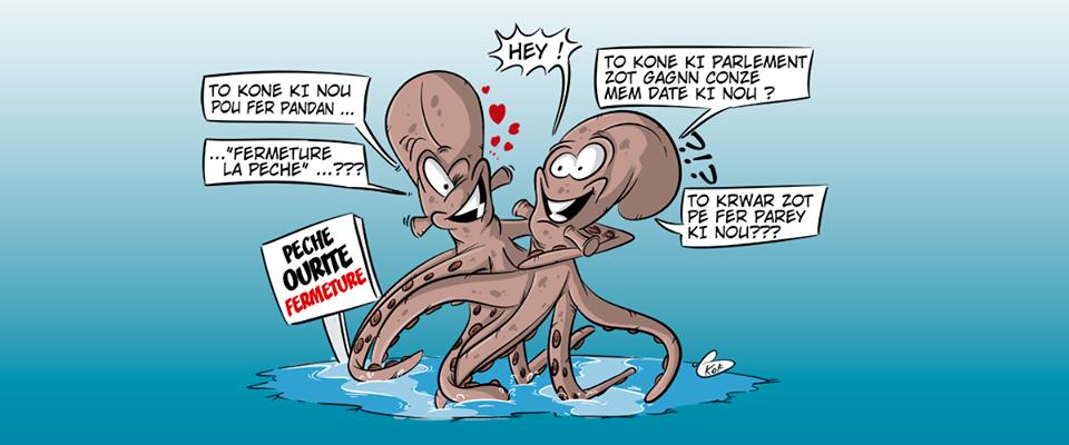 Fermeture de la pêche à l'ourite en même temps que l'Assemblée nationale...
