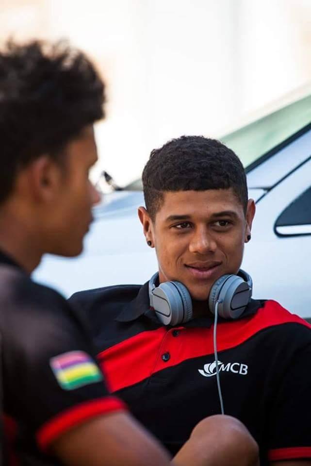 Jeux d'Afrique de la Jeunesse 2018 :Fabio Catherine et Andriano Azor ont respectivement pris les 5e et 6e place lors du contre-la-montre individuel