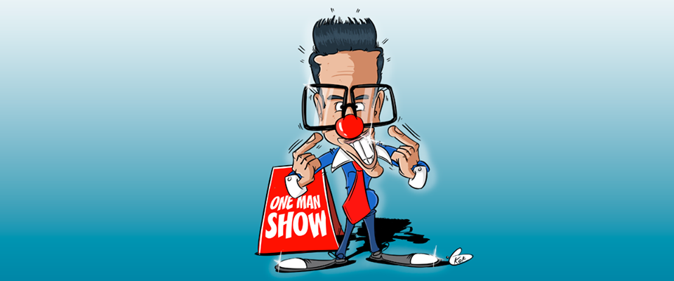 One-man-show de Shakeel