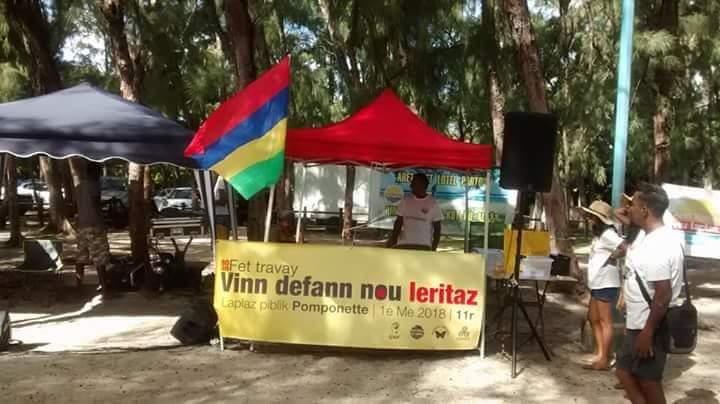 Pomponette : Aret Kokin Nou Laplaz exige du ministre que les barrages soient enlevés