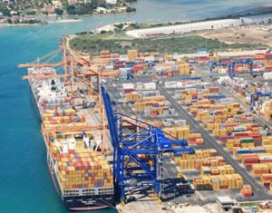 Le Port : Saisi d'armes à feu dans des conteneurs lors d'une inspection