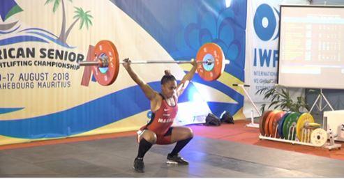 Championnat d'Afrique d'Haltérophilie :Roilya Ranaivosoa et Ketty Lent remportent une médaille d'or dans leur catégorie