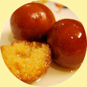 La recette de Pridhip Saint Narcisse : Les Gulab jamun