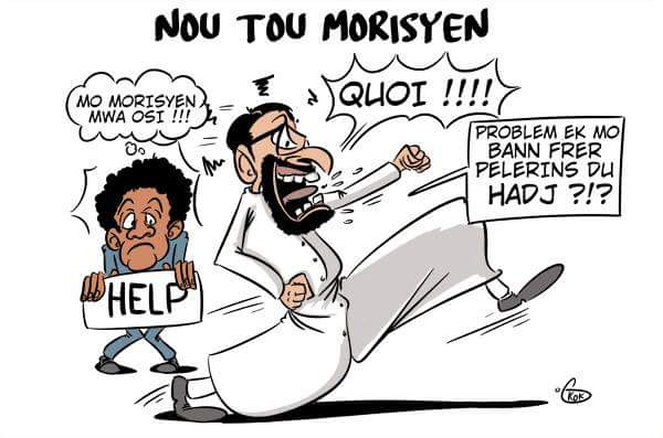 [KOK] Le dessin du jour : Nou tou morisyen