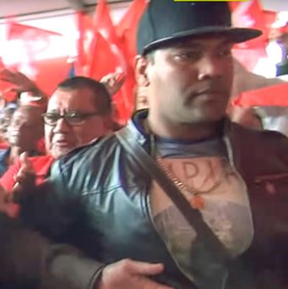 Congrès du PTr à Triolet : Un policier dans l'équipe de protection de Navin Ramgoolam