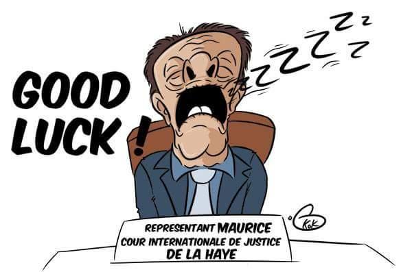 [KOK] Le dessin du jour : Notre représentant à l'international