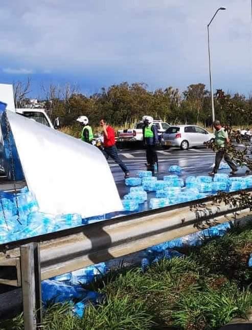 Embouteillage monstre sur l'autoroute à hauteur de Bagatelle