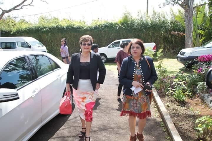 La Vice-Premier Ministre et la Ministre des affaires familiales des Seychelles en visite à Passerelle