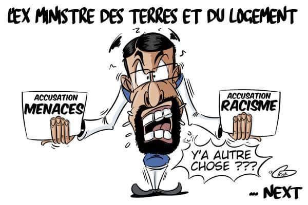 [KOK] Le dessin du jour : Menaces...racisme...