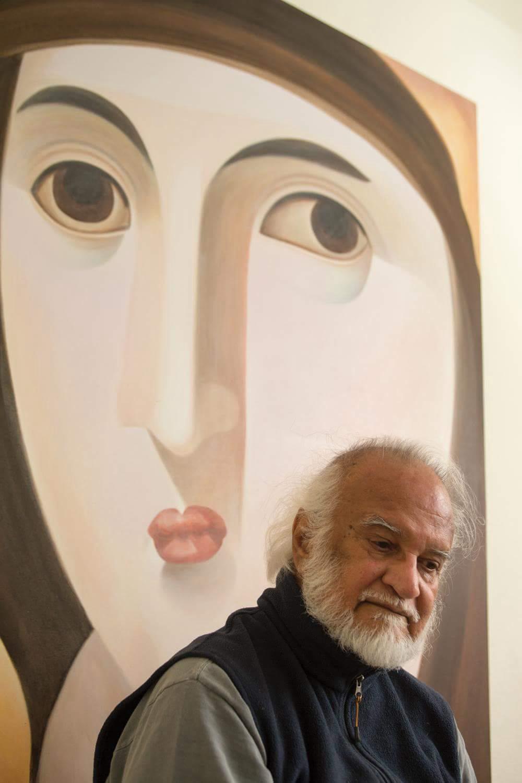 Brief encounters of the Artistic kind – Prasanna Seth: Artist, Poet, Philosopher by Rattan Gujadhur