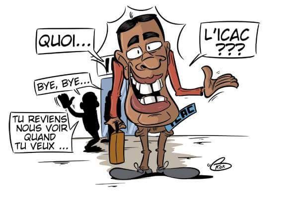 [KOK] Le dessin du jour : Sobrinho l'invité VIP de l'Icac