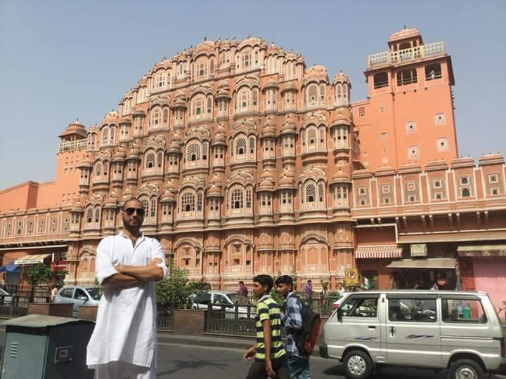Jaipur-Rajasthan. Le Palais des Vents
