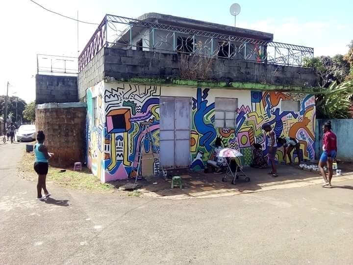 Street Art à Bois Marchand : Laboutik Kressoune- Evan Sohun