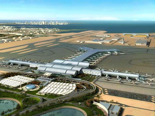 Aéroport de Doha-Qatar.