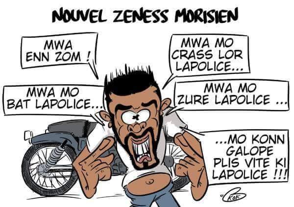 [L'actualité vue autrement]  : Nouvel Zeness Morisien