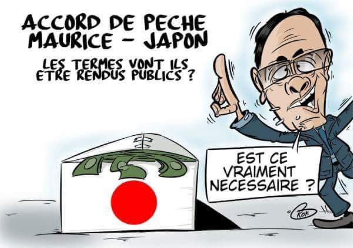 Accord de pêche Japon-Maurice : Le ministre des Affaires étrangères, Vishnu Lutchmeenaraidoo entretien le flou