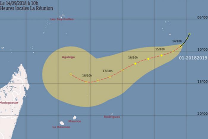 [Saison cyclonique] Le premier système dépressionnaire tropical de la saison