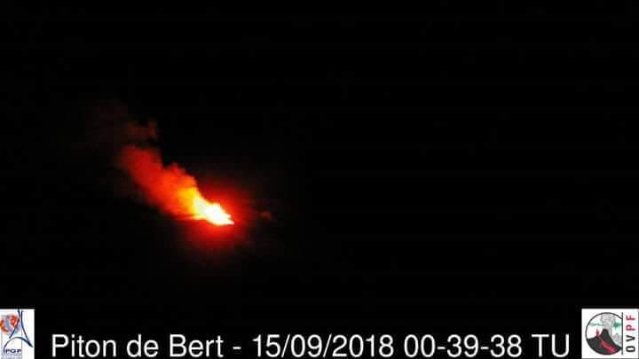 Le Piton de la Fournaise est en entré en éruption