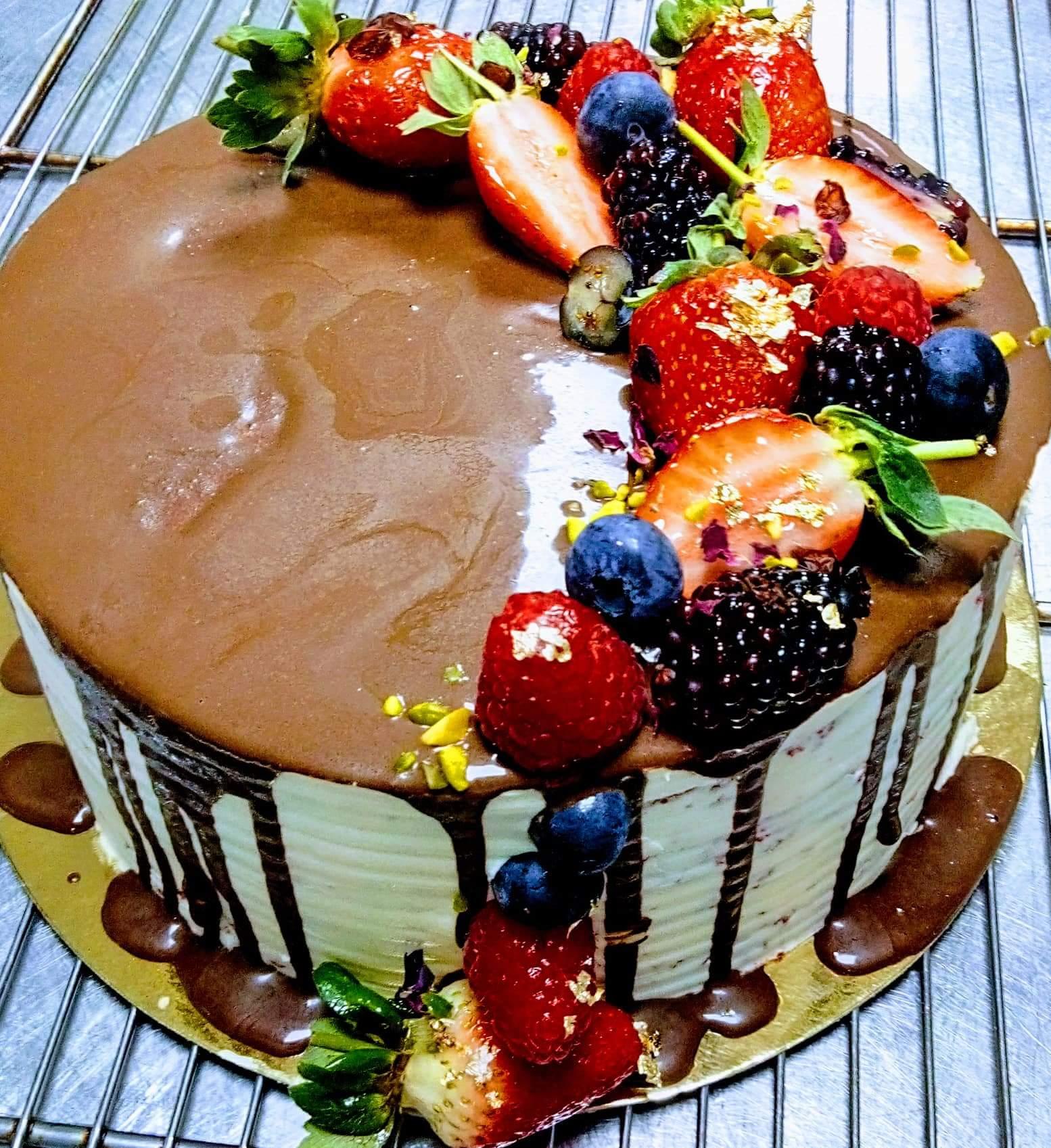 La recette de Denis Rajah : Le Cheese Cake
