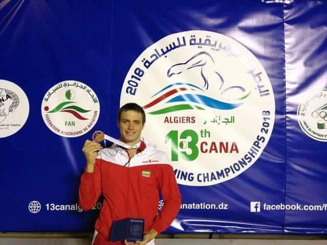[Natation] Championnats d'Afrique en Algérie : Bradley Vincent offre une deuxième médaille d'argent à Maurice