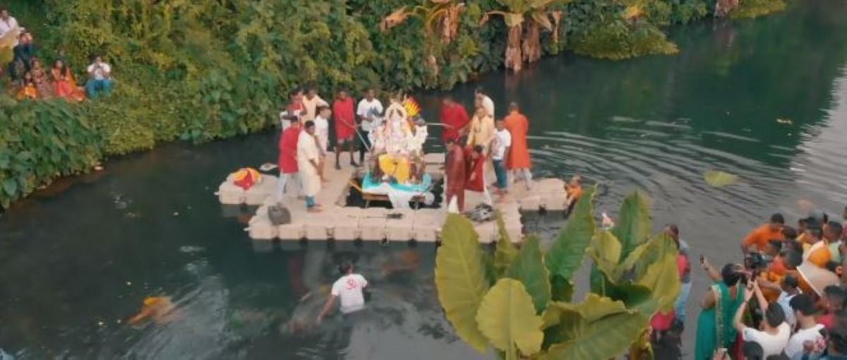 [Vidéo] Ganesh Chaturdhi 2018 - Bel-Air Rivière Sèche