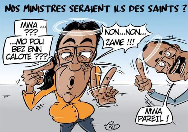 L'actualité vue autrement : Nos ministres seraient-ils des Saints ?
