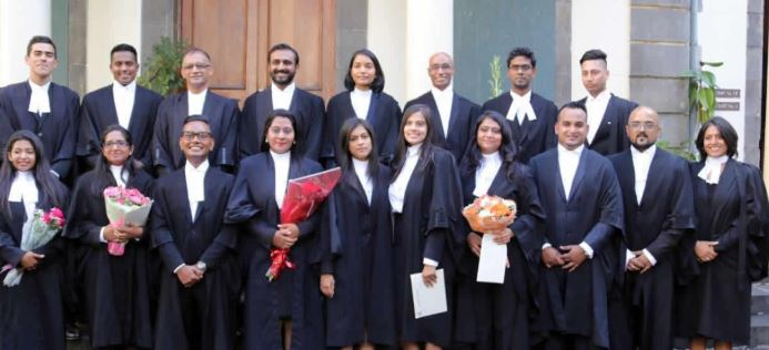 Le barreau mauricien compte 19 nouveaux avocats
